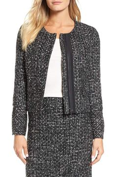 03ce4d51758 Emerson Rose Bell Cuff Tweed Suit Jacket