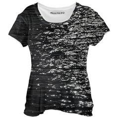 #ad Dark water  I like that dark sparkling water t-shirt design I just made for #PAOM  #tshirt #tshirtdesign #fotosbykarin Color Profile, Ad Fashion, Shoulder Sleeve, Shirt Dress, T Shirt, Shirt Designs, Scoop Neck, Dark