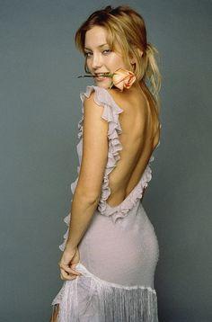 Kate Hudson (Born: Kate Garry Hudson - April 19, 1979 - Los Angeles, CA, USA); daughter of Goldie Hawn & Bill Hudson