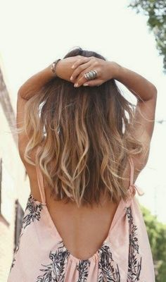 Trendy Hair Color Blonde And Brown Summer Long Bobs Ideas Trendy Haarfarbe Blond Und Braun Som Summer Hairstyles For Medium Hair, Straight Hairstyles, Everyday Hairstyles, Balayage Straight Hair, Balayage Hair, Medium Hair Styles, Curly Hair Styles, Cabelo Ombre Hair, Ombré Hair