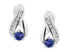 sapphire earrings - Google Search