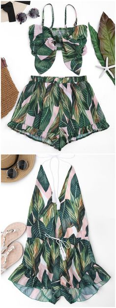 Up to 80% OFF! Drawstring Backless Leaf Print Beach Romper. #Zaful #CoverUps zaful,zaful outfits,zaful dresses,spring outfits,summer dresses,Valentine's Day,valentines day ideas,cute,casual,classy,lace,mesh,fashion,style,swimwear,swimsuits,beach cover ups,swimsuit cover,jumpsuits,rompers,playsuits,dressy jumpsuits,playsuits two piece,two piece outfits,two piece dresses,dresses,printed dresses,sundresses,long sleeve dresses,mini dresses,maxi dresses @zaful Extra 10% OFF Code:ZF2017