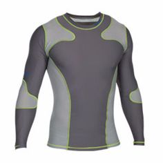 Long Sleeve Rashguard Long Sleeve MMA by Century c04708. Long Sleeve Rashguard  - Long Sleeve MMA by Century        Rash Guards         Made of moisture-wicking fabric designed to be worn under a uniform or on its own,        Compression wear supports muscles during workouts, and may help blood flow, improve performance and speed recovery time.        men's Long sleeve rashguard, with its simple, clean design, features mesh shoulders and sides for ventilation and freedom of motion.  Sizes…