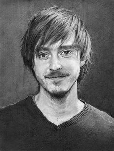 Jonas Karlsson by ekota21 on DeviantArt | First pinned to Celebrity Art board here... http://www.pinterest.com/fairbanksgrafix/celebrity-art/ #Drawing #Art #CelebrityArt