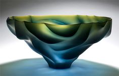 joon yong kim art glass | ... of a Sprit 2010 26 x 51 x 51 cm Blown, engraved and plished glass