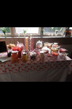 Our sweetie table