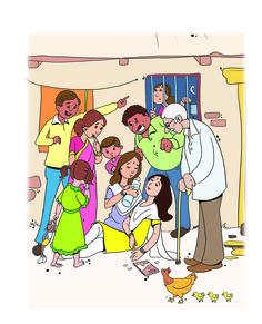 Comic Illustration by Team BC