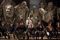 Satyagraha - puppets - produced by Philip Glass (in storage at ENO)