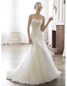 Meerjungfrau Schönste Romantische Brautkleider aus Organza