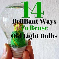 14 Brilliant Ways to Reuse Old Light Bulbs