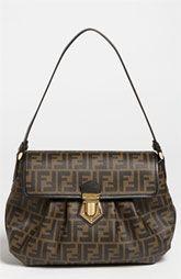 f4e42c13 Fendi 'Tomorrow Zucca - Small' Shoulder Bag Shop Till You Drop, Small  Shoulder
