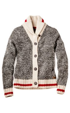 Our Cabin Cardigan is back! Cozy, classic, and a cold-weather must-have.