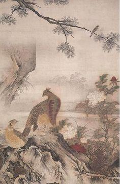 Paintings of Kanoh school
