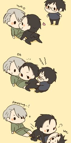 Victor And Yuuri / Eros / Yuri on Ice / #yoi