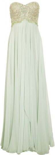 ice mint gown- lovely