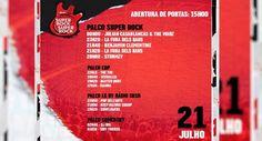 Passatempo: Ganhe bilhetes duplos para o Super Bock Super Rock