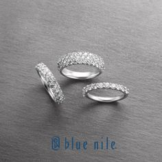 love the bottom right...Women's wedding bands from #BlueNile.