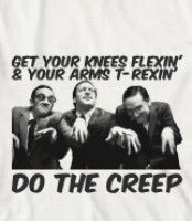 Do The Creep Song by The Lonely Island,  Get Your knees Flexin & your arms T-Rexin    ! #snl #lonelyisland #nickim