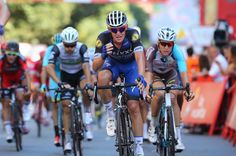 Maxime Bouet frustrated after his second place on stage 12