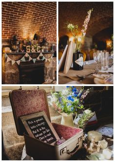 Rustic wedding at Polhawn Fort