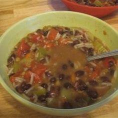 Beezie's Black Bean Soup Allrecipes.com