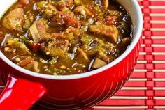 Crockpot Recipe for Pork and Green Chile Stew (Nefi's Green Chile Stew)