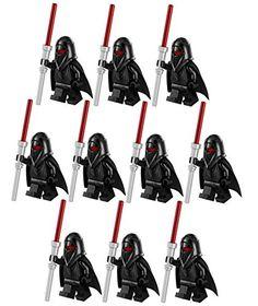 10 New Lego Star Wars Shadow Guard Minifig Lot 75079 Black Imperial Figure Clone @ niftywarehouse.com