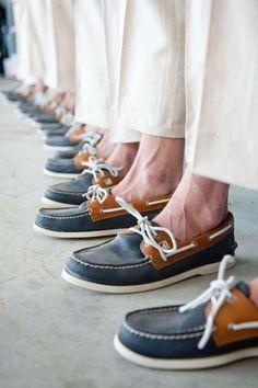 Nautical Wedding - Groomsmen Sperry's                                                                                                                                                                                 More