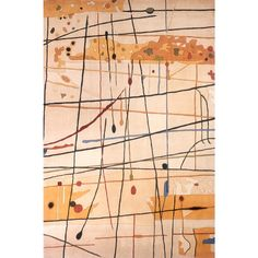 Contempo Beige 9 ft. 6 in. x 13 ft. 6 in. Area Rug