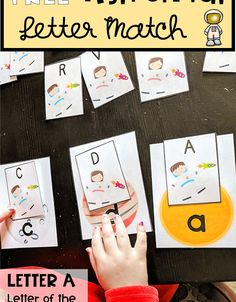 Letters For Kids, Letter Of The Week, Letter Matching, Super Mom, Playing Cards, Lettering, Cover, Books, Art