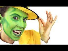 Ashlea Henson - The Mask face paint #Snazaroo #facepaint