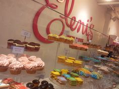 We were at Chelsea Market when I saw this place called Eleni's.  The cookies looked amazing.  Unfortunately, the space in the stomach was already reserved for 'The Lobster Place'.
