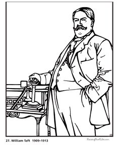 20 Best President of the US Coloring Pages images