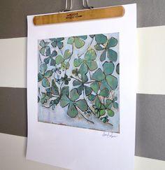 "laureldawn — clovers for lochlan print 11""x17"""