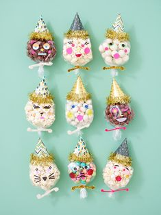 DIY Party People Favors - popcorn in een zakje trakteren - traktatie
