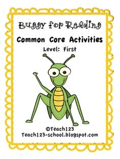 FIRST LEVELREADING:  5 pagesCommon Core Standards:  1st Grade:1.RFS.2Demonstrate understanding of spoken words, syllables, and sounds (ph...
