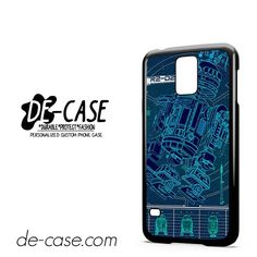 R2D2 Blue Print DEAL-9083 Samsung Phonecase Cover For Samsung Galaxy S5 / S5 Mini
