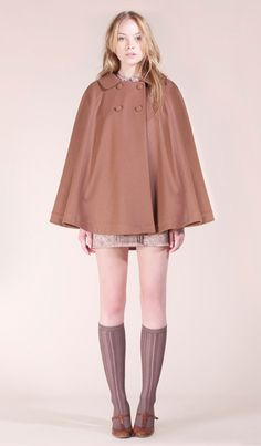 Cape... not the almost-a-skirt. LOL