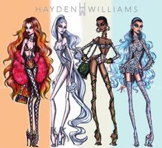 The 4 Elements collection by Hayden Williams Fire, Air, Earth & Water