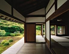 Available for sale from Benrubi Gallery, Jacqueline Hassink, Genkō-an 3 Northwest Kyoto 9 June 2009 Chromogenic Print, 41 × 51 in Buddhist Architecture, Monte Fuji, Japanese House, Japanese Style, Buddhist Temple, Living In New York, Modern Artists, Global Art, Architecture Details