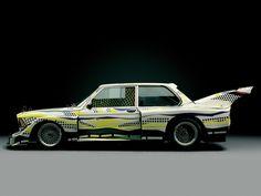 BMW Art Car 03 | Roy Lichtenstein | United States | 1977 BMW 320i ...