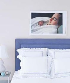 Turn Photos Into Art | A gallery of simple ideas to make your slumber zone dreamy.