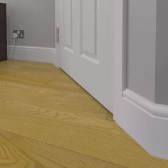 Torus skirting boards - a timeless design that you'll have no doubt seen within homes all over the UK. Mdf Skirting, Skirting Boards, Traditional Interior, Traditional Design, Modern Interior, Interior Architecture, Interior Design, Plinth Blocks