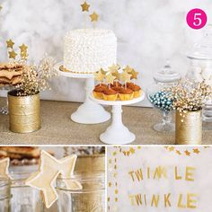 Twinkle little star themed birthday