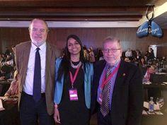 Dr. Agustí y mi querido Dr. Chelli dos de los más grandes en la investigación científica de la EPOC. Bendecida