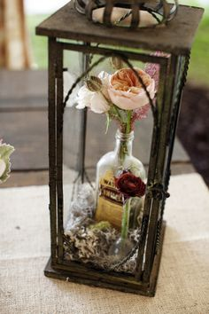 Bash Collective Events | Glass Terrarium | Science Wedding | Photogen, Inc. | Munster Rose Floral