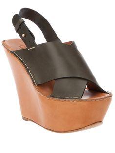 7b88c734eb4 Chloe Platform Sandal SS12 Designer Sandals