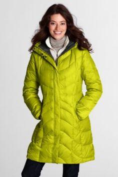 What I'm Wearing: Lands' End Chevron Down Coat | Winter, Moncler ...