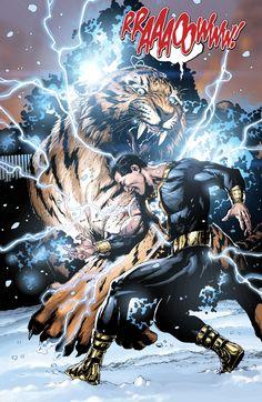 Black Adam vs Tawny by Gary Frank Dwayne John has confirmed he is playing Black Adam in a future DC film!