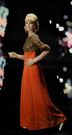 1964 - Yves Saint Laurent evening dress